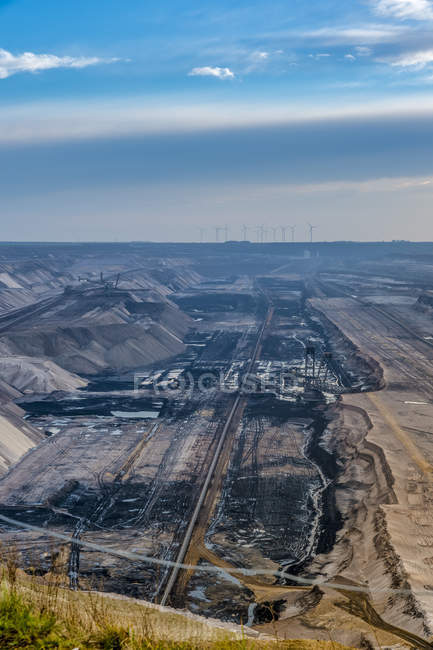 Germany, Grevenbroich, Garzweiler surface mine — Fotografia de Stock