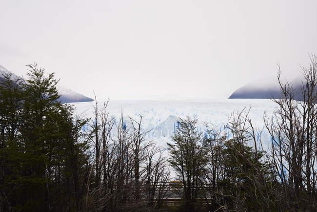 Argentina, Patagonia, vista da geleira de Perito Moreno — Fotografia de Stock