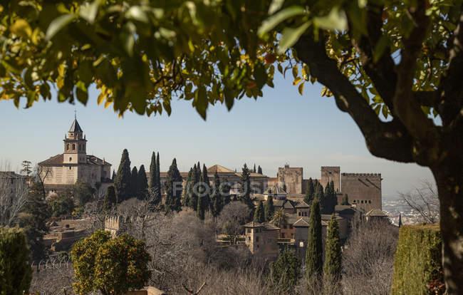España, Andalucía, Granada, Alhambra - foto de stock