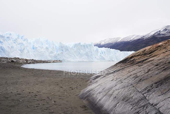 Argentina, Patagônia, paisagem no Glaciar Perito Moreno — Fotografia de Stock