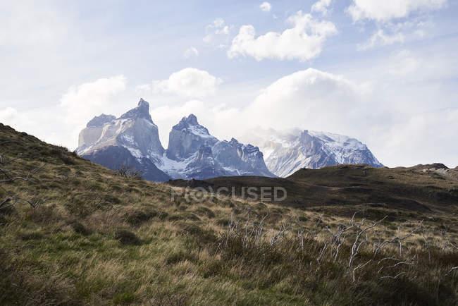 Chili, Patagonie, Paysage du Parc National des Torres del Paine — Photo de stock