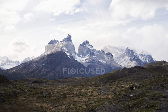 Chile, Patagonia, Landscape of Torres del Paine National Park — Stock Photo