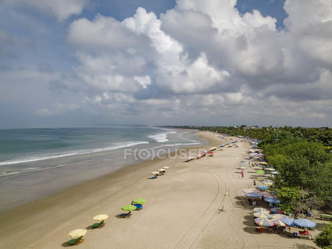 Bali, Kuta Beach, view to the beach — Stock Photo