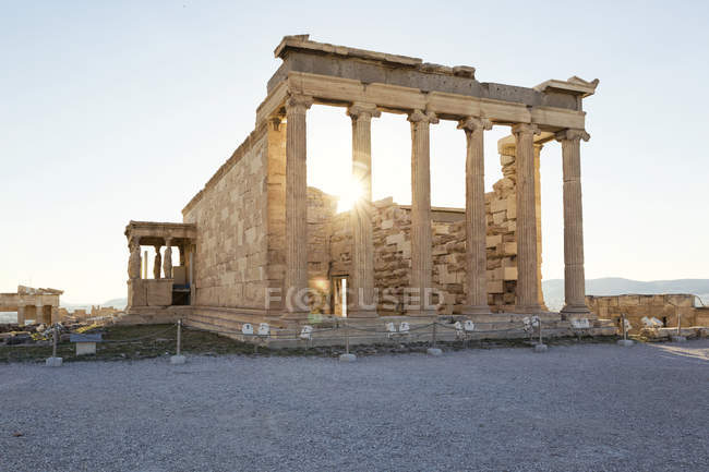 Greece, Athens, Acropolis, Erechtheion — Foto stock