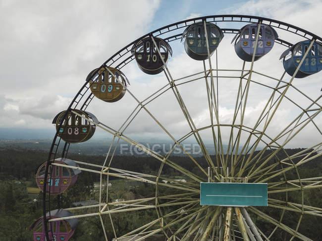 Indonésia, Bali, Bedugul, roda gigante — Fotografia de Stock