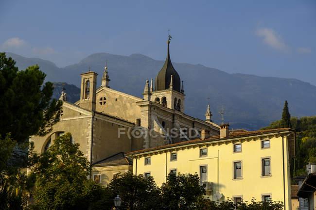 Italy, Dolomites, Trentino-Alto Adige, Arco, Collegiata dell?Assunta — Stock Photo