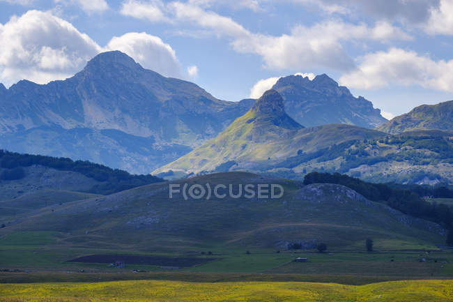 Montenegro, Zabljak province, Durmitor National Park, Durmitor mountains — Stock Photo