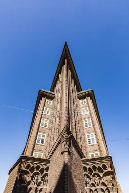 Germany, Hamburg, Kontorhaus Quarter, Chile House — Stock Photo