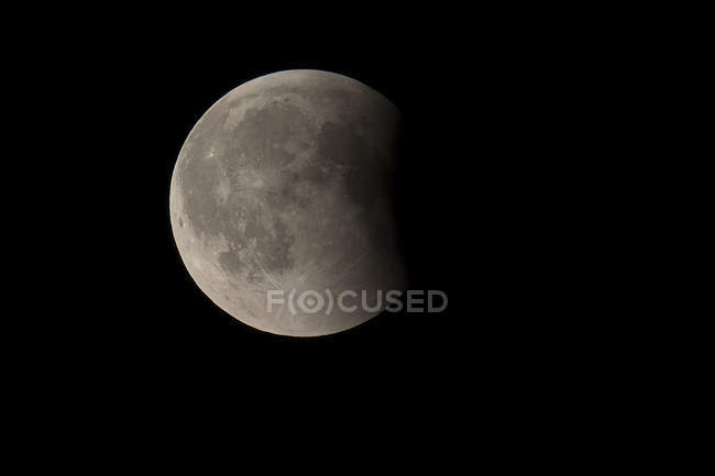 Alemania, eclipse lunar total - foto de stock