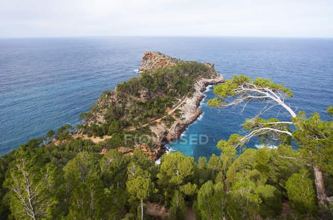 Spagna, Isole Baleari, Maiorca, Deia, Penisola Sa Foradada, sentiero escursionistico — Foto stock