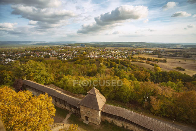 Germany, Bavaria, Bamberg, view from the Altenburg — Stock Photo