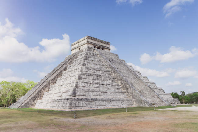 Mexiko, Yucatan, Chichen Itza, mayanruins — Stock Photo
