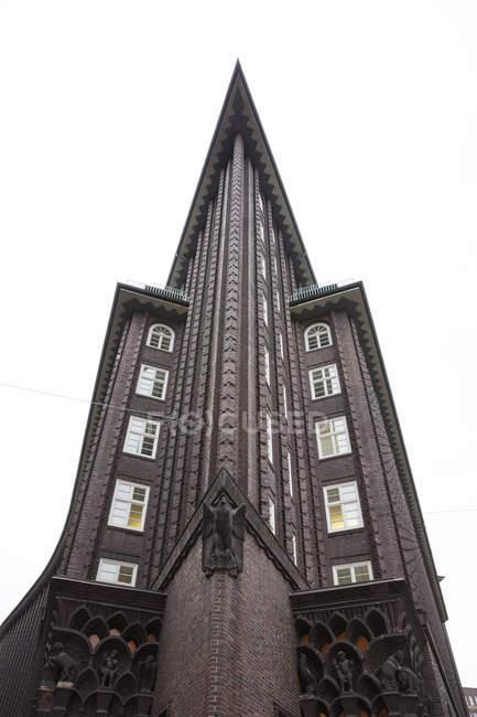 Germany, Hamburg, Chile House — Stock Photo
