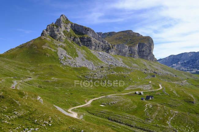 Чорногорію, Національний парк Дурміор, гірський масив Дурміор, Гора Седло на Седло перевал — стокове фото