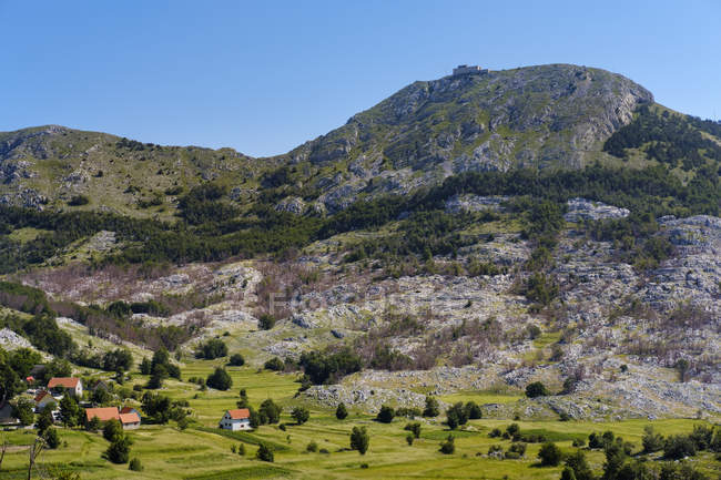 Чорногорія, Національний парк Ловчен, Гора Jezerski Vrh — стокове фото