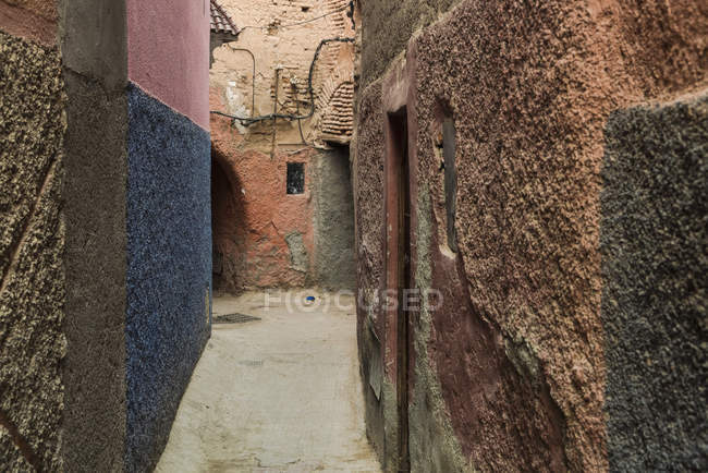 Марокко, Марракеш, Medina, Алея — стокове фото