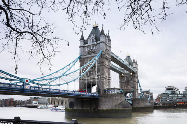 Uk, Londres, Tower Bridge — Photo de stock