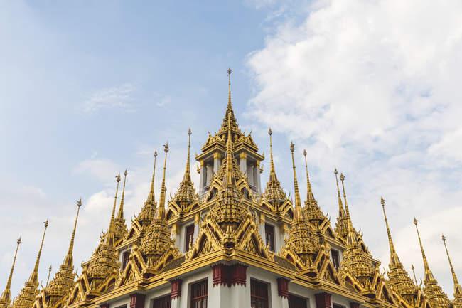 Thailand, Bangkok, close-up of Loha Prasat temple — Stock Photo