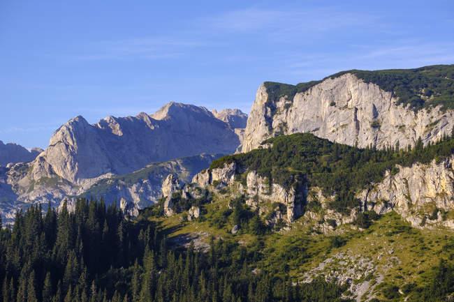 Montenegro, Durmitor National Park, Durmitor massif — стокове фото