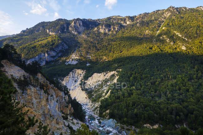 Чорногорія, провінція Мойковац, Національний парк Дурміор, Тара Каньйон, Тара річка — стокове фото