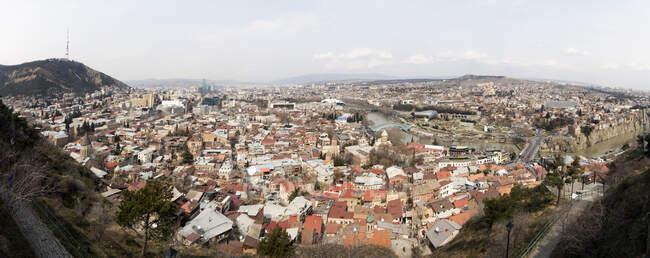 Georgia, Tbilisi, cityscape at daytime — Stock Photo