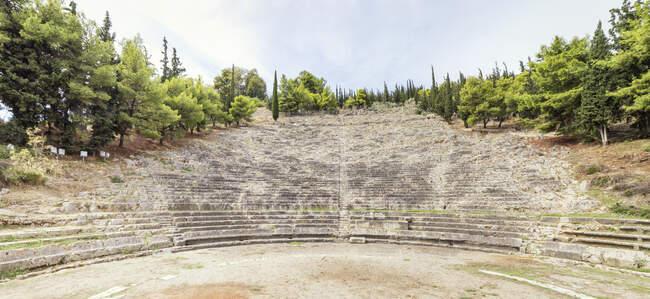 Grèce, Argos, théâtre antique — Photo de stock