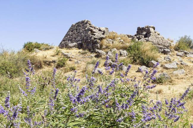 Grèce, Argolis, Pyramide de Hellinikon — Photo de stock