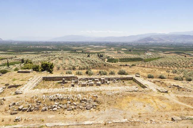 Grèce, Argos, Neo Ireo, Heraion — Photo de stock