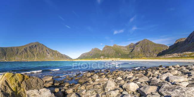 Norway, Lofoten, Ramberg Beach — Foto stock
