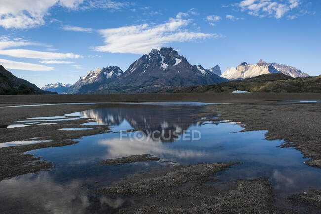 Chile, Patagonia, Torres del Paine National Park, Lago Grey — Stock Photo