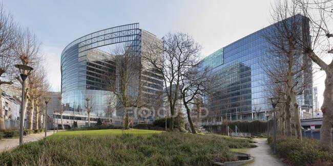 Belgio, Bruxelles, edificio Berlaymont, Commissione europea, edificio amministrativo dell'Unione europea — Foto stock