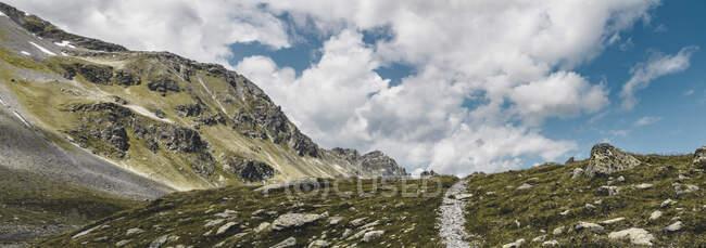 Svizzera, Grigioni, Davos, Escursioni Passo Flueela — Foto stock