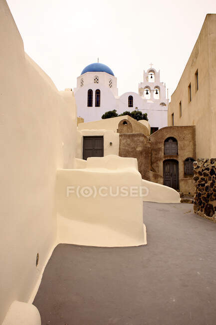 Emporio, Santorin en Grèce — Photo de stock