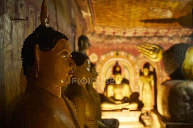 Cave temple, Dambulla, Sri Lanka — Stock Photo