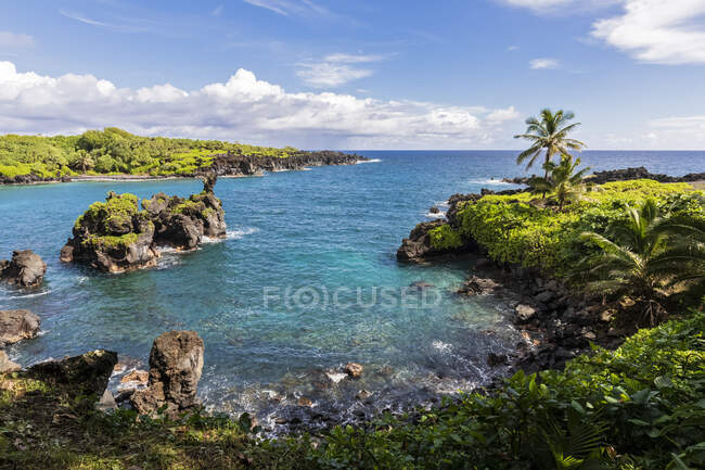 Waianapanapa State Park, Maui, Hawaii, Stati Uniti — Foto stock