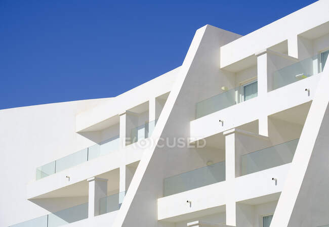 Балконы отеля, Лансароте, Испания — стоковое фото
