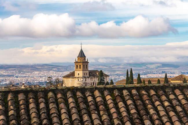 Church of Santa Maria in Alhambra, Granada, Spain — Stock Photo