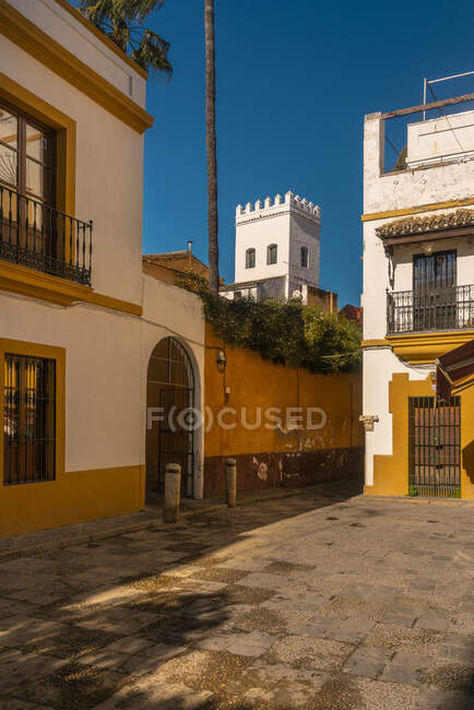 The jewish quarter near the Royal Alcazar, Seville, Spain — Stock Photo