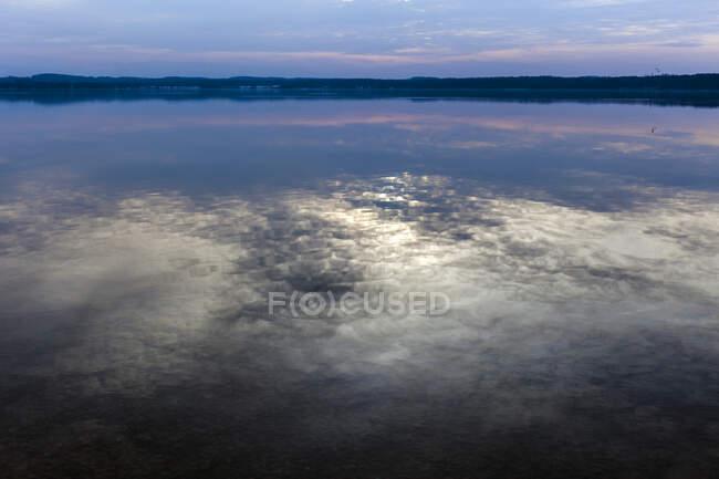 Lake Starnberg at sunset, Bavaria, Germany — Stock Photo