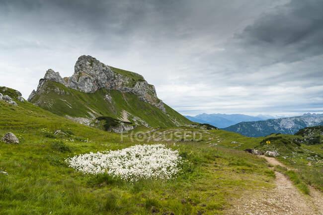 Austria, Tyrol, Maurach, Rofan Mountains — Stock Photo