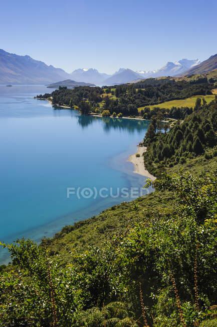 Lake Wakaipu, around Queenstown, South Island, New Zealand — Stock Photo