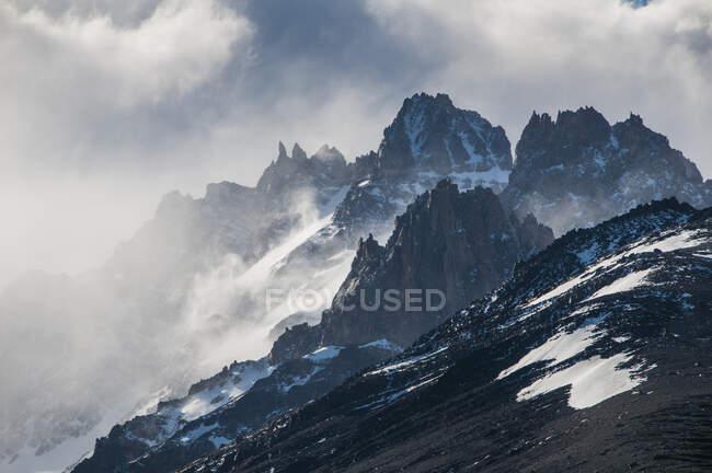Mount Fitz Roy near El Chalten, Argentina, South America — Stock Photo