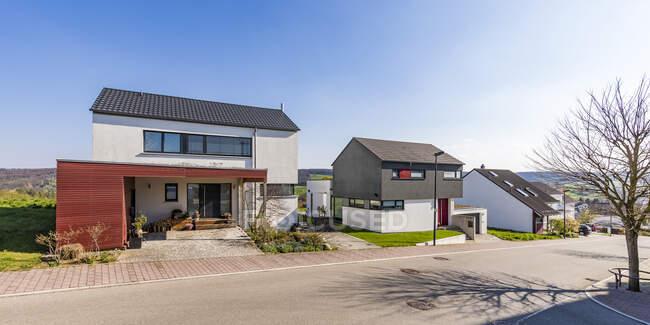 Область развития Waldenbuch, Germany — стоковое фото