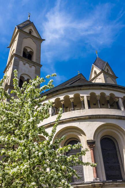 Basilica of St. Castor, Koblenz, Germany — Stock Photo