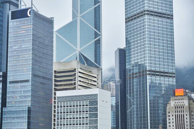 Grattacieli, Distretto Centrale, Hong Kong, Cina — Foto stock