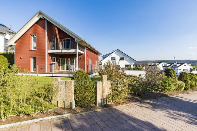 Area di sviluppo Waldenbuch, Germania — Foto stock
