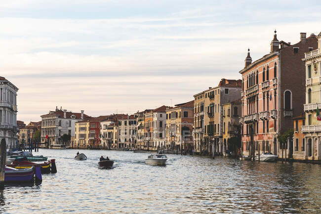 Canal Grande at sunset, Venice, Italy — Stock Photo