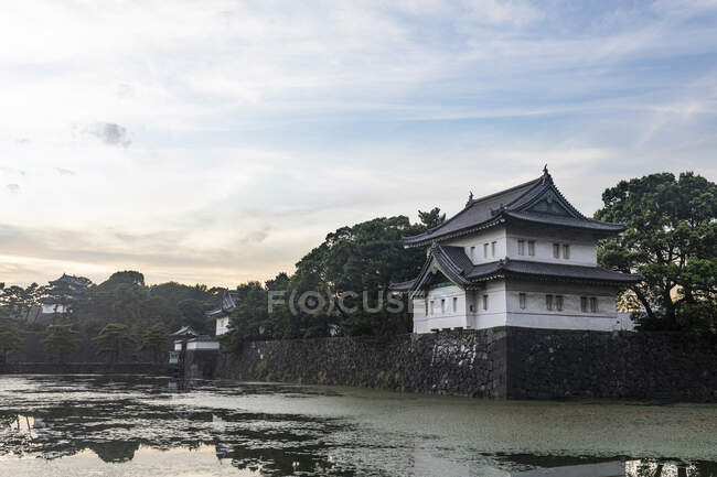 Imperial palace, Tokio, Japan — Stock Photo