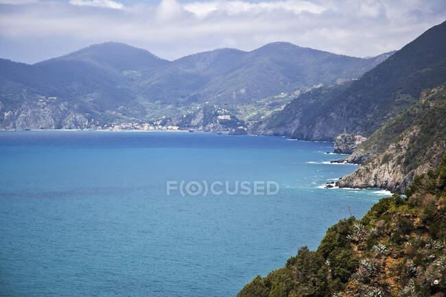 Mar Mediterraneo, Liguria, Cinque Terre, Italia — Foto stock