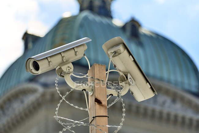 Швейцарія, Берн, федеральний палац. — стокове фото
